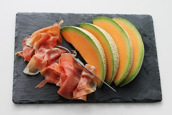 carpaccio de melon