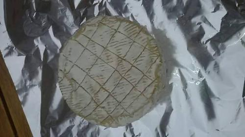 camembert au barbecue